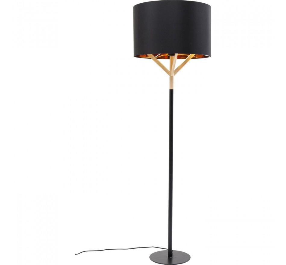 Ongekend Scandinavische zwarte staande lamp - Scandi - Kare Design MU-43