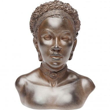 Deco Object African Lady Choker Kare Design