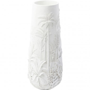 Vase Jungle blanc 83cm