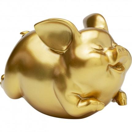Tirelire Pig doré