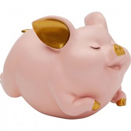 Tirelire Pig fuchsia