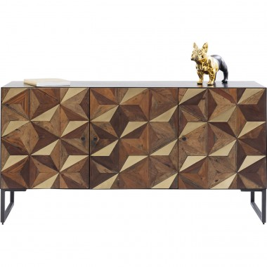 Sideboard Illusion Gold Kare Design
