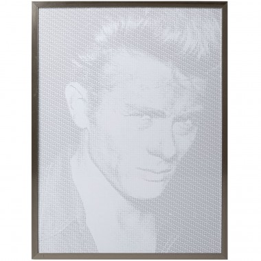 Tableau Frame Idol Pixel James 104x79cm
