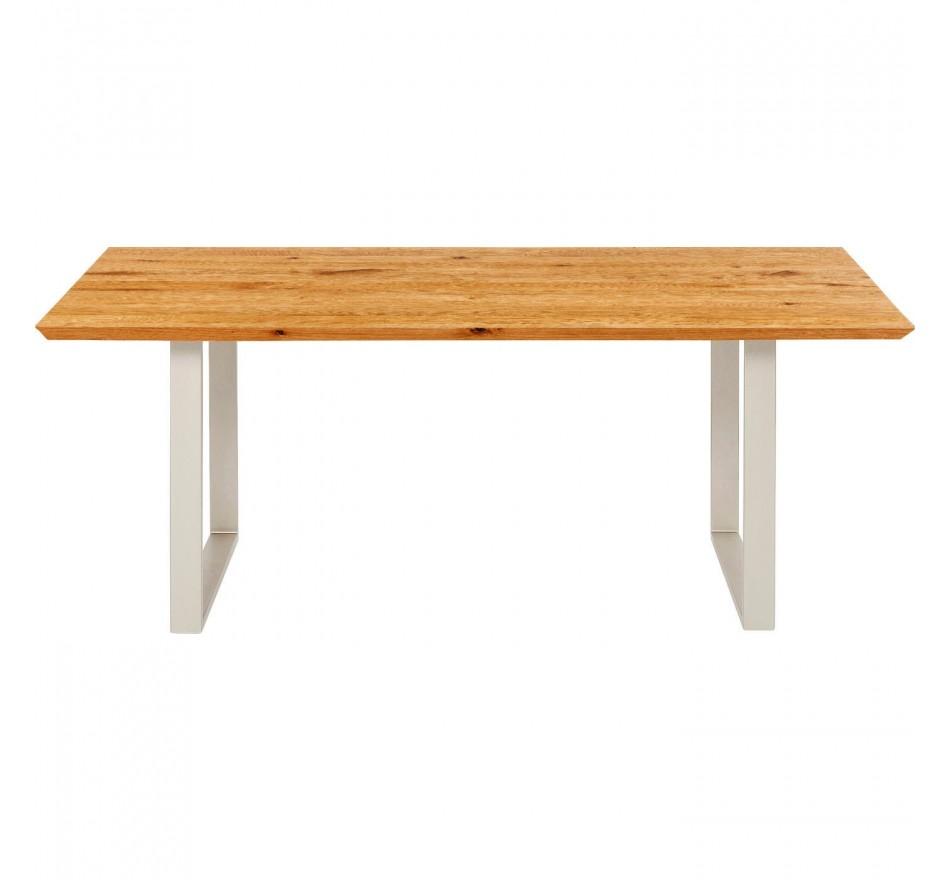 Table Symphony chêne argenté 180x90