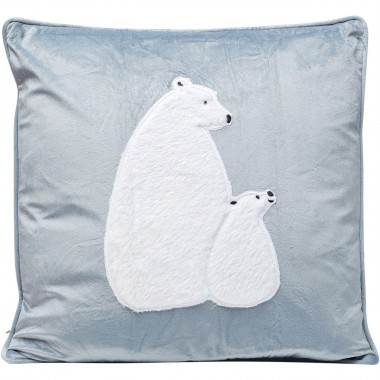 Coussin Polar Bear Family 50x28cm