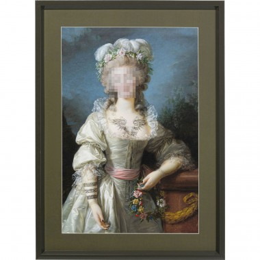 Tableau Frame Incognito Countess 112x82cm