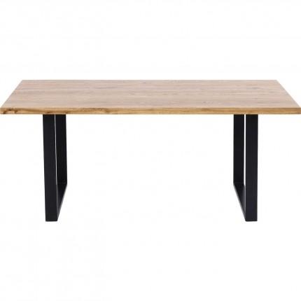 Table Jackie Oak Black 160x80cm Kare Design