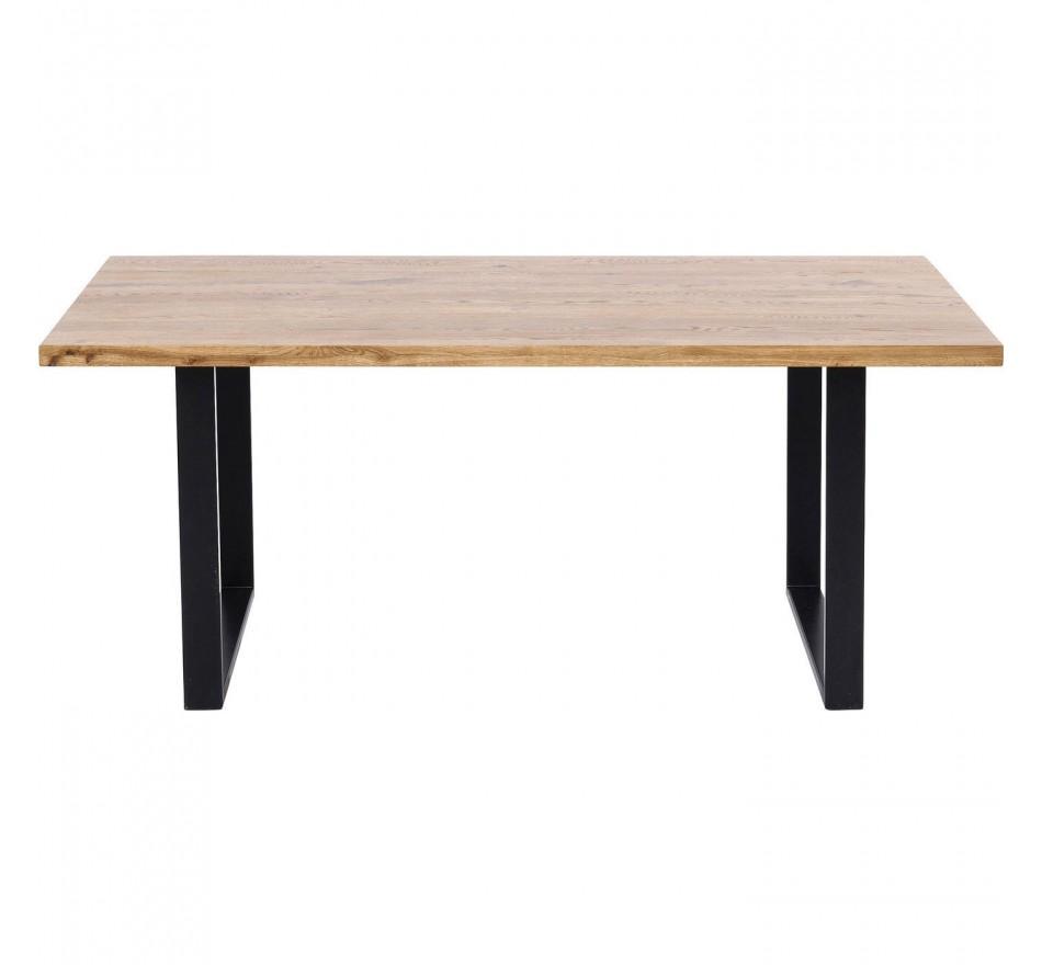 Table Jackie chêne-noir 160x80