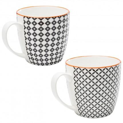 Mugs Art Cuisine set de 4 Kare Design