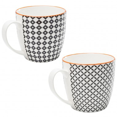 Mugs Art Cuisine set de 4 Kare Design