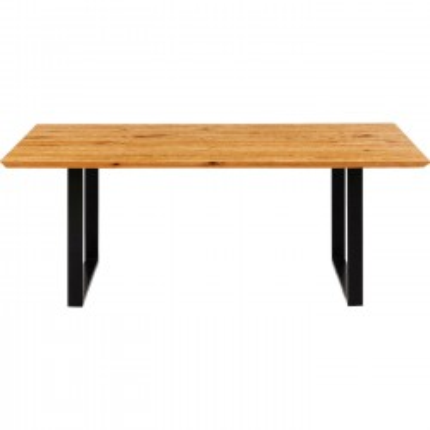 Table Symphony Oak Black 180x90cm Kare Design