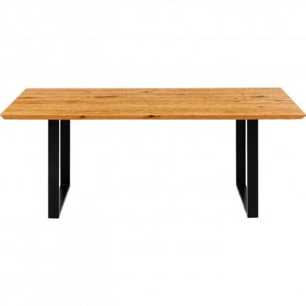 Table Symphony chêne noir 200x100