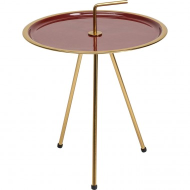 Table d appoint Miami rouge