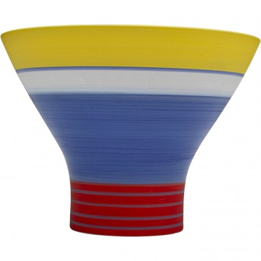 Vase Happy Day bleu 18cm
