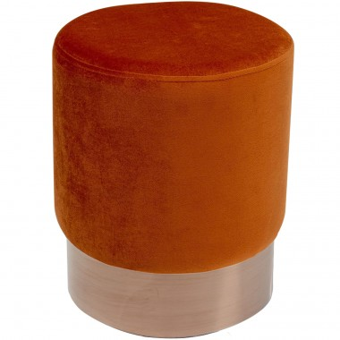 Tabouret Cherry orange/cuivre Ø35cm