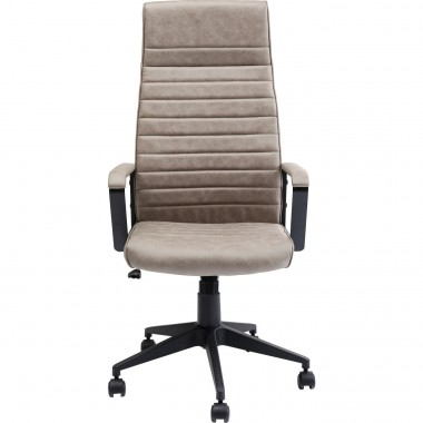 Chaise de bureau Labora pebble haut dossier