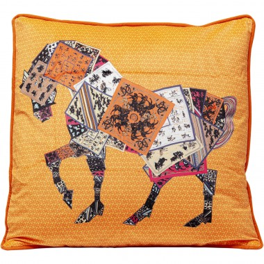 Coussin Knight Horse 50x28cm