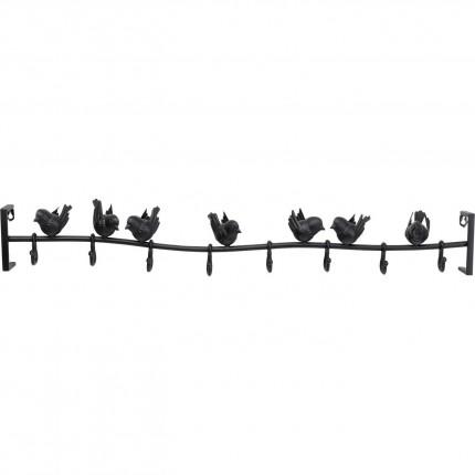 Garderobe murale Shadow Birds 95cm