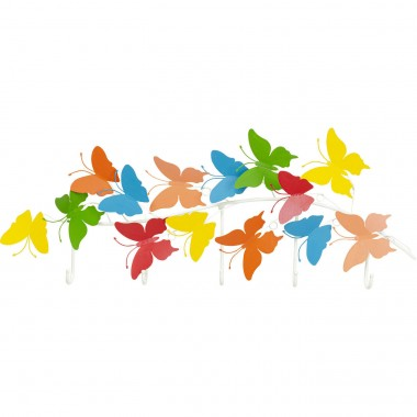 Garderobe murale Colorful Butterflies