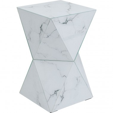 Table d appoint Luxury Triangle marbre