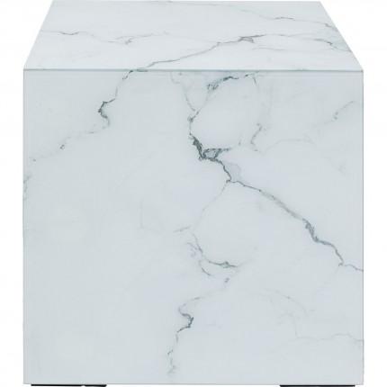 Bijzettafel Luxury Marble 45x45cm Kare Design