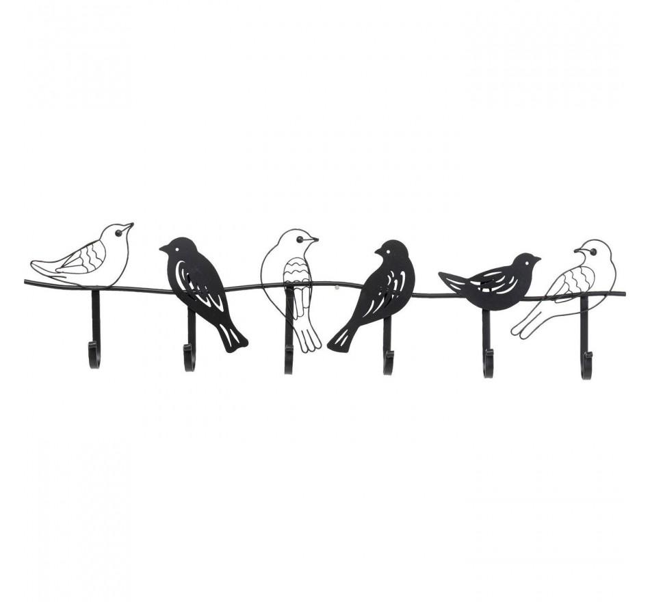 Garderobe murale Shadow Birds 85cm