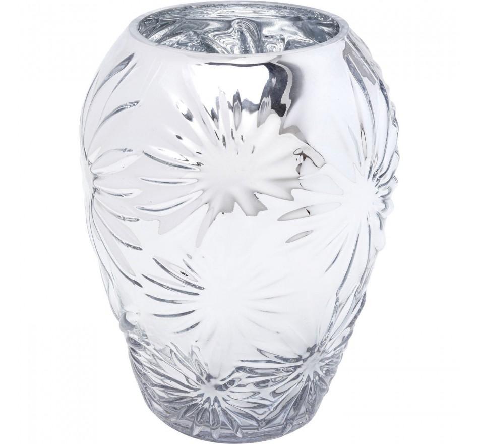 Vase Ice Flowers 21cm