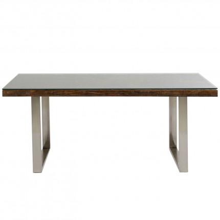 Table Conley chromé 180x90