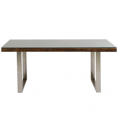 Table Conley chromé 180x90
