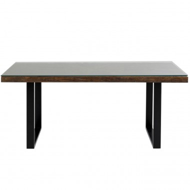 Table Conley noir 180x90