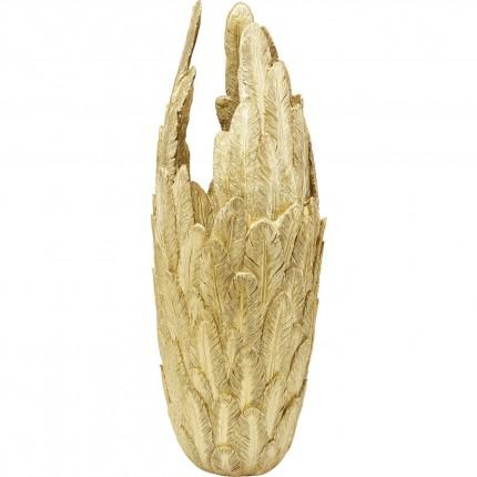 Vase Feathers doré 91cm