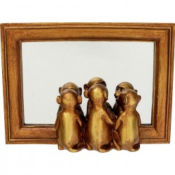 Deco Tray Monkeys Mirror Kare Design