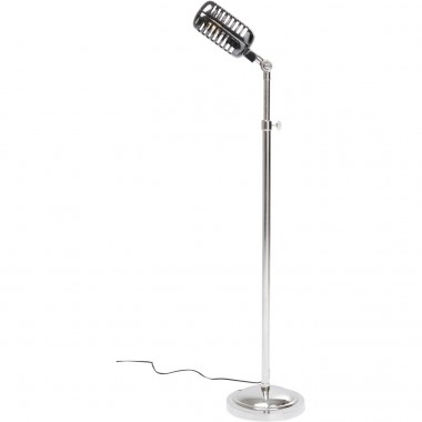 Lampadaire Vintage Microphone