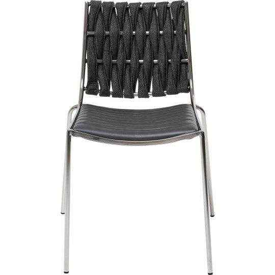 Chaise Two Face gris