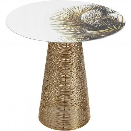 Table d appoint Charme Palm  Ø40cm
