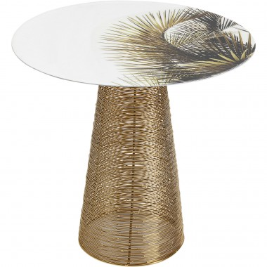 Table d appoint Charme Palm  Ø40cm