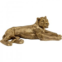 Deco Object Lion Gold XL Kare Design