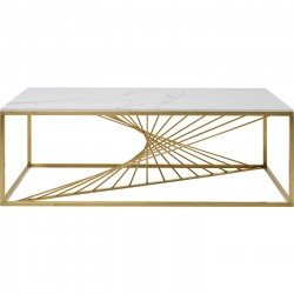 Table basse Art Marble verre 140x70cm