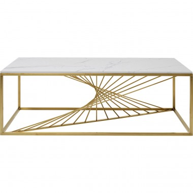 Table basse Art Marble verre 140x70cm