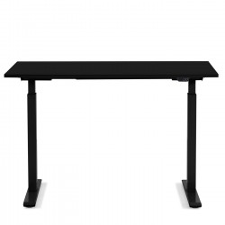 Desk Office Black Black 140x60cm