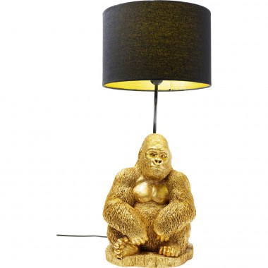 Lampe de table Monkey Gorilla doré