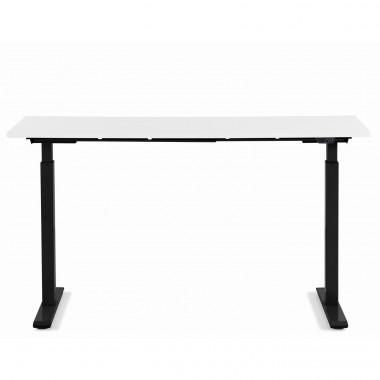 Desk Office Black White 140x60cm