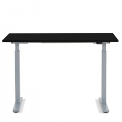Desk Smart Grey Black 120x70cm Kare Design