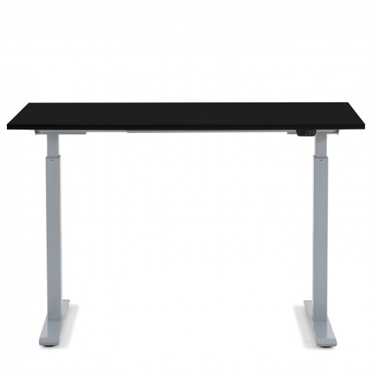 Desk Office Grey Black 120x70cm