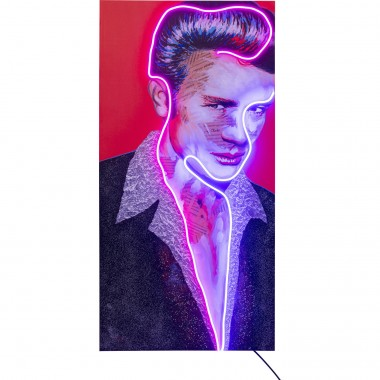 Tableau Touched  Idol James Neon 160x80