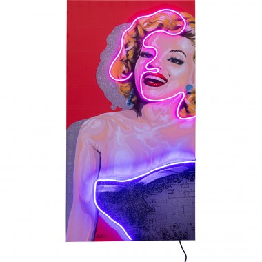 Tableau Touched  Idol Marilyn Neon160x80