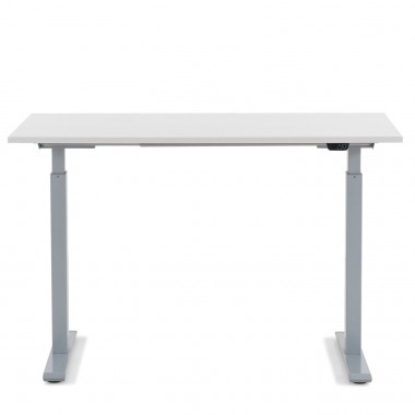 Desk Office Grey White 120x70cm