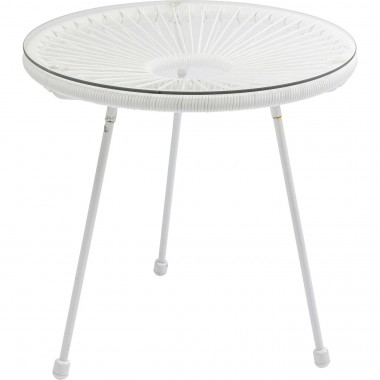 Table d appoint  Acapulco blanc