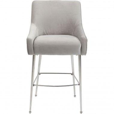 Tabouret de bar Night Fever gris clair