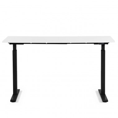 Desk Office Black White 120x70cm